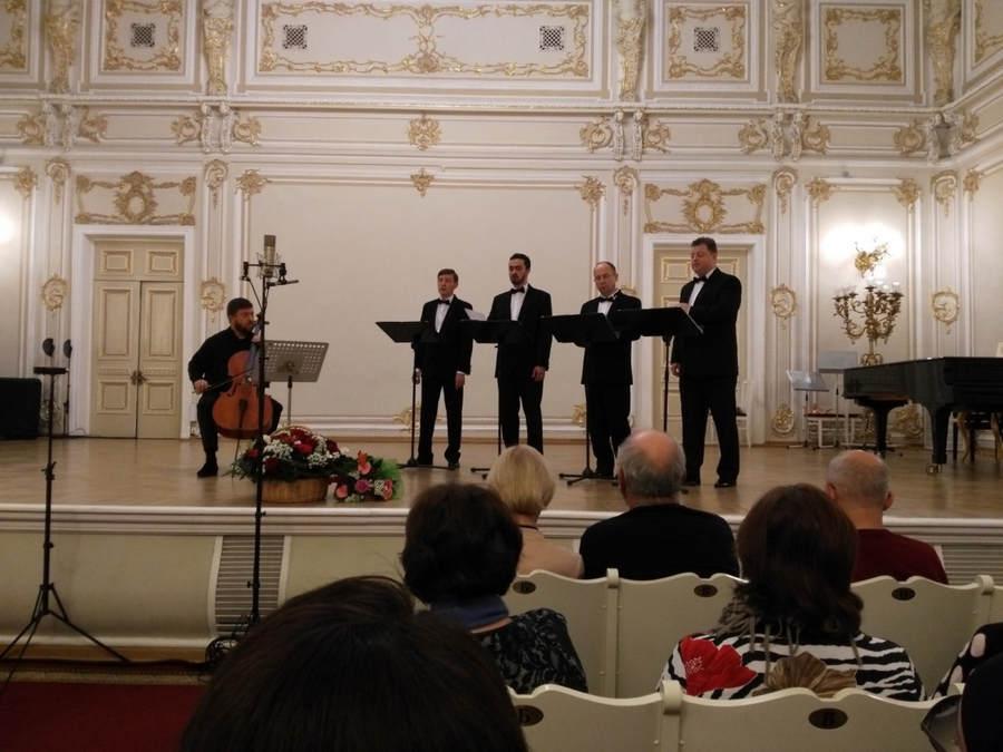 В Малом зале Петербургской Филармонии состоялся Юбилейный концерт Коневец-квартета