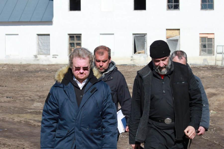 Епископ Выборгский и Приозерский Игнатий посетил Коневский монастырь