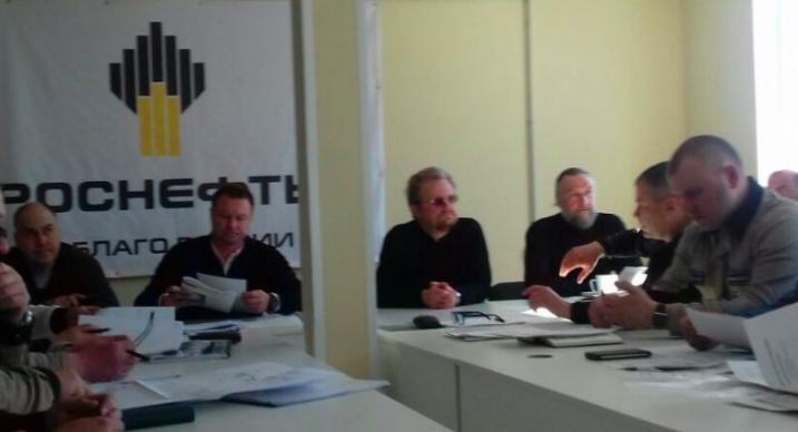 Епископ Выборгский и Приозерский Игнатий провел рабочее совещание с представителями «Роснефти» на Коневце