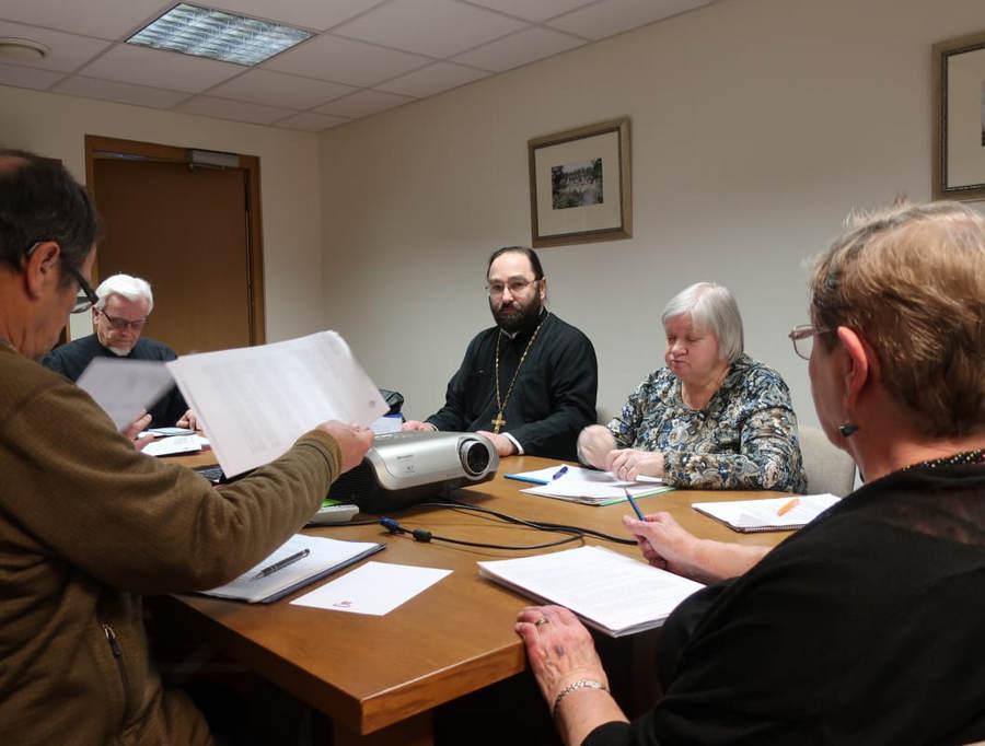 Настоятель петербургского подворья Коневской обители принял участие в заседании правления Общества «Коневец», состоявшемся в Таллине.