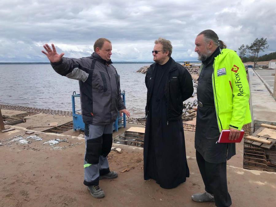 Начался визит епископа Выборгского и Приозерского Игнатия в Коневский монастырь