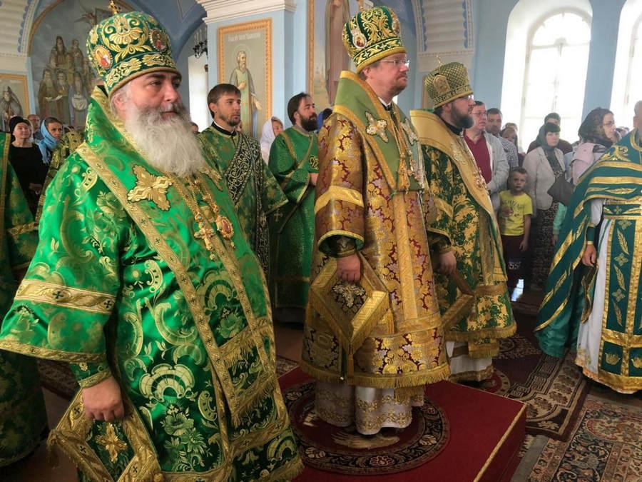 Епископ Выборгский и Приозерский Игнатий возглавил торжества, посвященные дню памяти преподобного Арсения Коневского, в островной обители