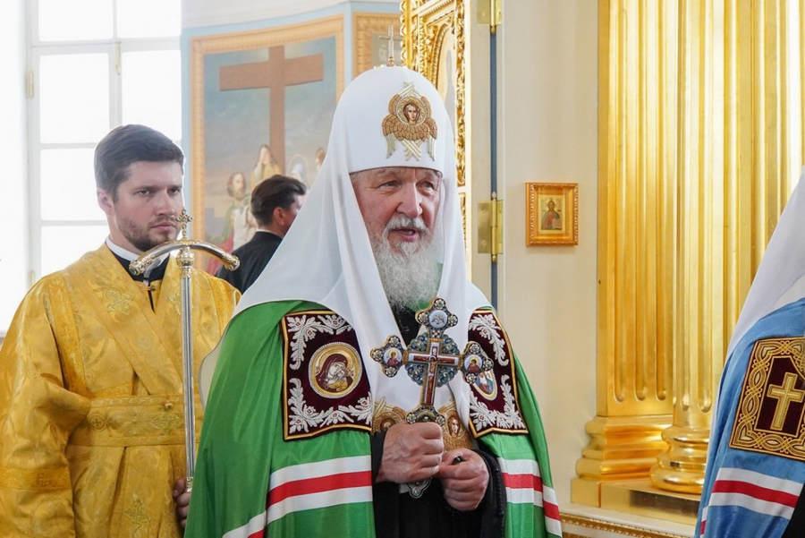 Слово Святейшего Патриарха Кирилла при освящении Рождество-Богородичного собора Коневской обители