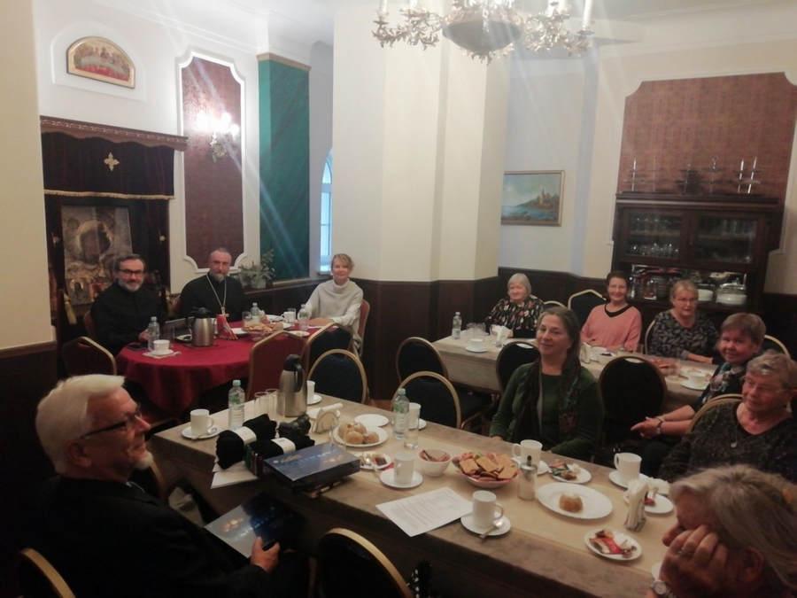 На подворье Коневской обители в Санкт-Петербурге состоялось заседание правления общества Коневец