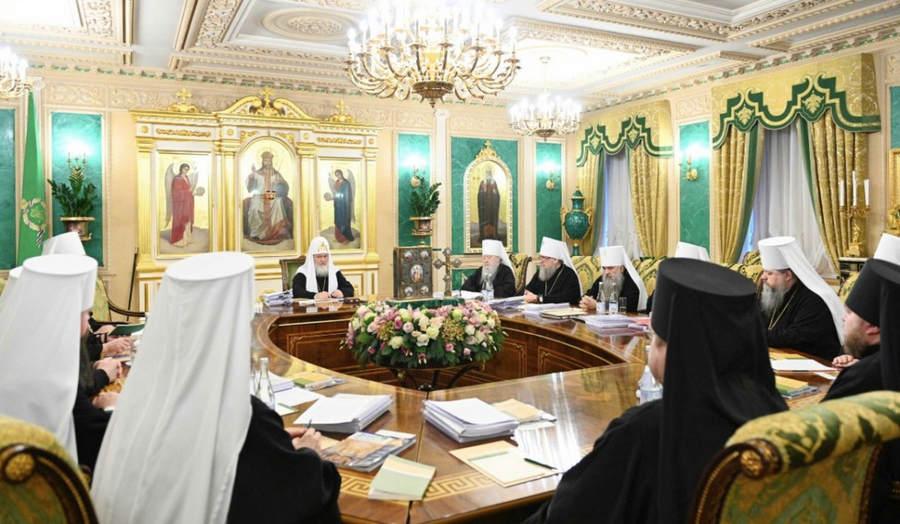 Епископ Выборгский и Приозерский Игнатий принял участие в заседании Священного Синода. Итоги заседания