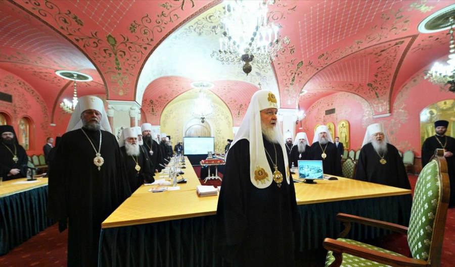 Преосвященнейший Игнатий принимает участие в совместном заседании Священного Синода и Высшего Церковного Совета
