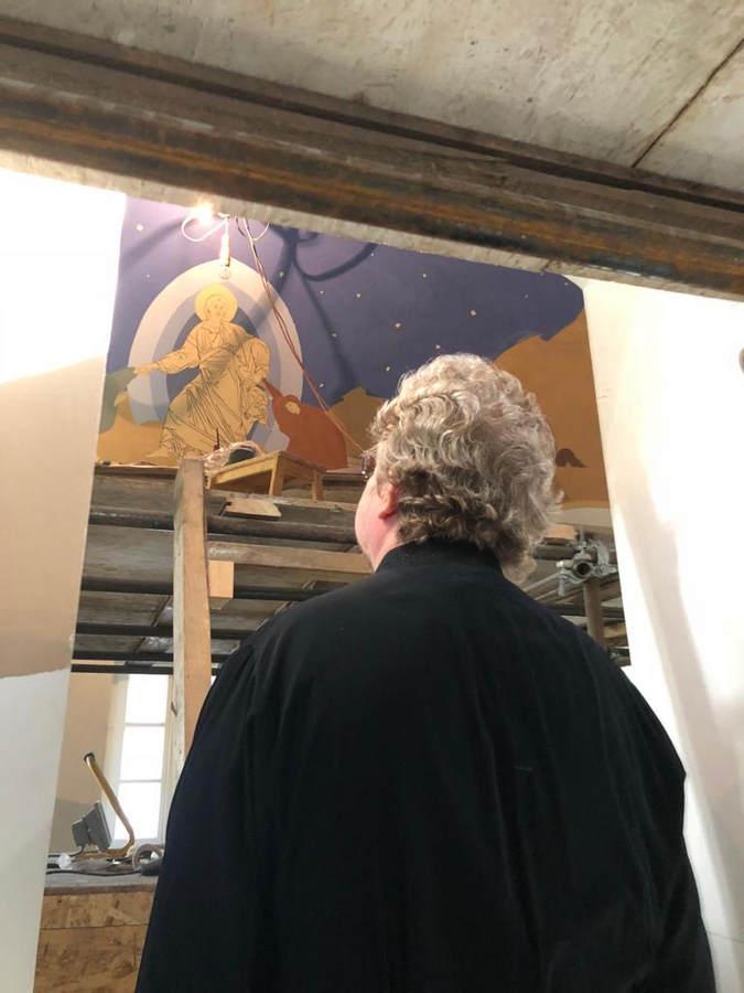 Преосвященнейший Игнатий осмотрел ход реставрационных работ в Казанском скиту, посетил Коневский скит и провел совещание с представителями «Роснефти» в островной обители