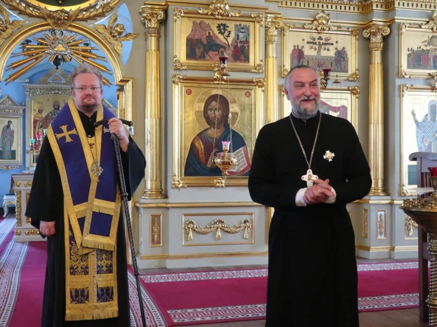 Архимандрит Александр (Арва) награжден орденом Святого благоверного князя Даниила Московского III степени