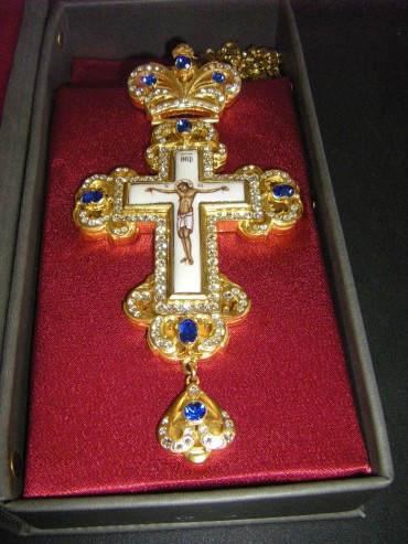 крест с украшениями 2