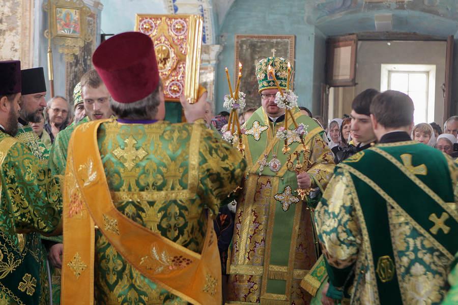 День памяти преподобного Арсения Коневского. Литургия