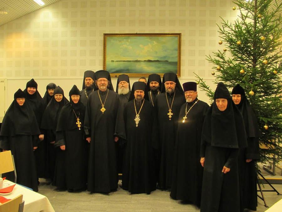 «Коневские вечера» в Финляндии и посещение Ново-Валаамского монастыря в декабре 2016 года