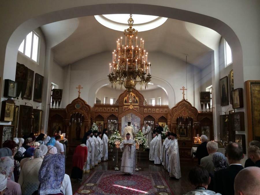 Наместник Коневского Рождество-Богородичного монастыря посетил торжества в Ново-Валаамском монастыре Финляндии