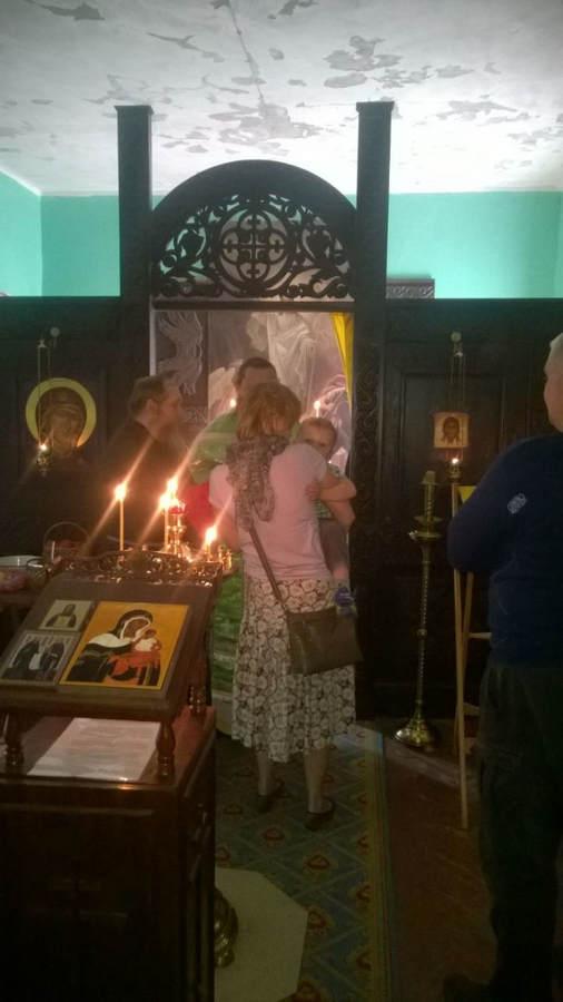 19 августа совершена Божественная литургия на подворье Коневского монастыря в бухте Владимировская