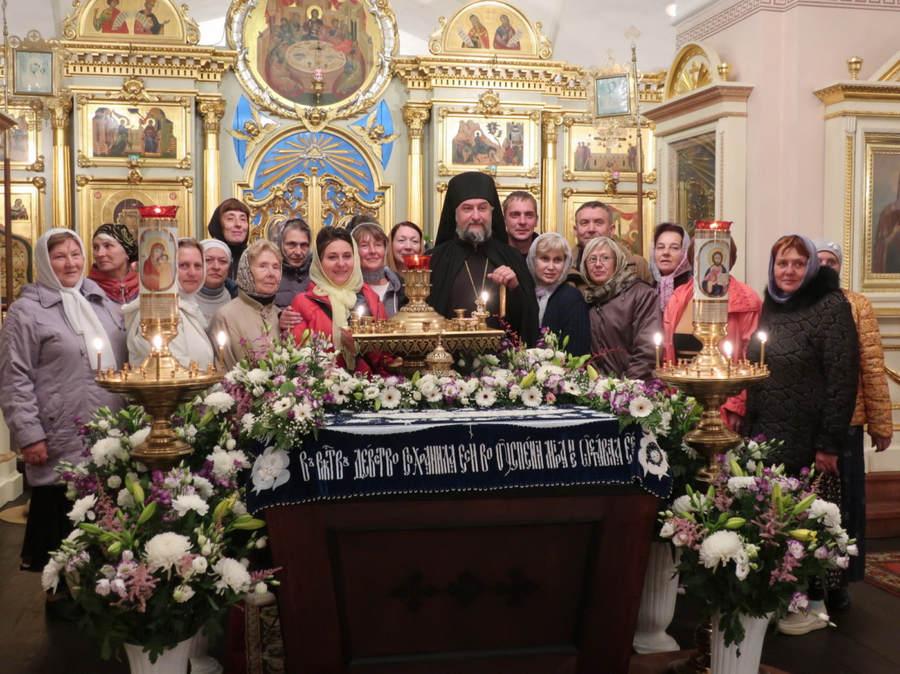 В Коневском Рождество-Богородичном монастыре торжественно встретили праздник Успения Пресвятой Богородицы