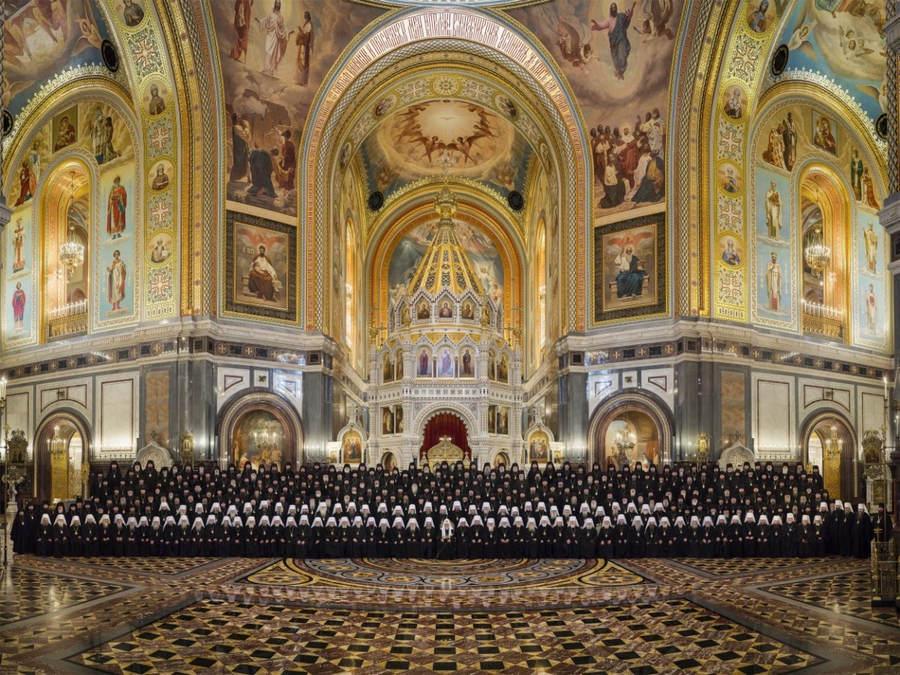 Епископ Выборгский и Приозерский Игнатий принял участие в Архиерейском Соборе. Послание Собора.