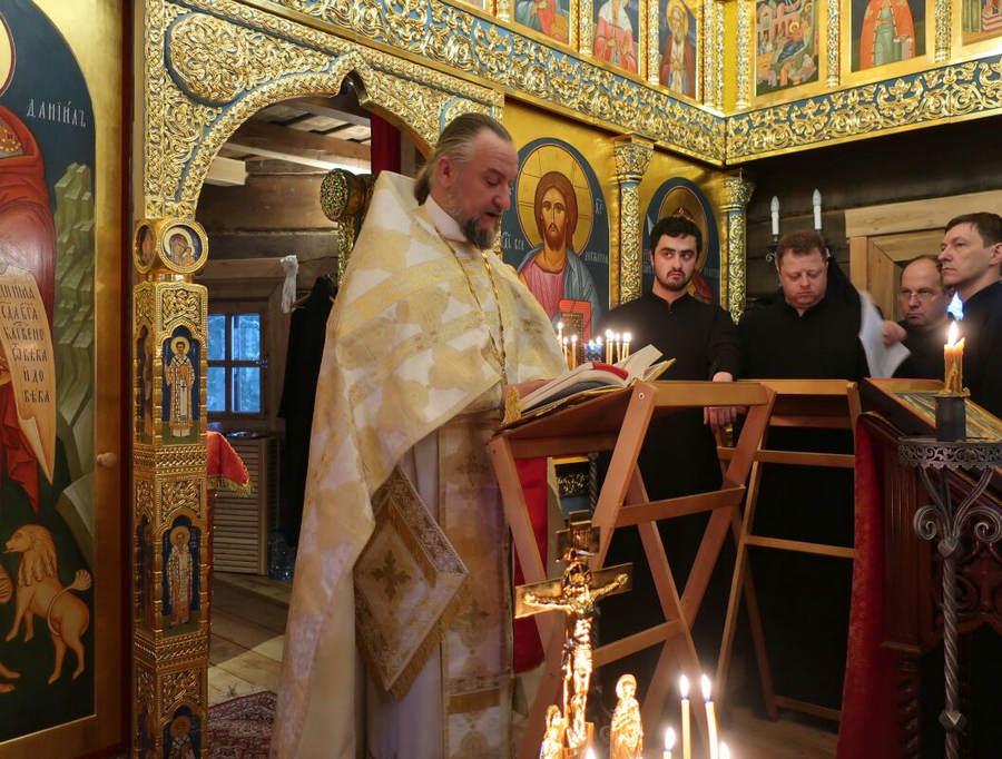 Наместник Коневского монастыря игумен Александр (Арва) принял участие в традиционных  Коневских вечерах в Финляндии