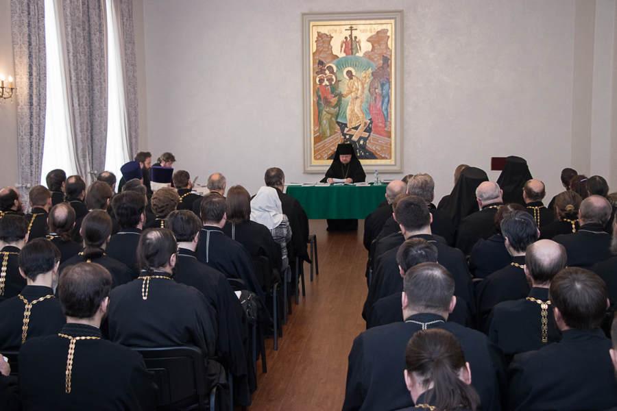 Состоялось ежегодное собрание Выборгской епархии и итоговое заседание Епархиального совета 2017 года