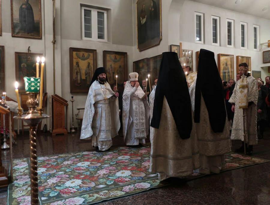 Настоятель петербургского подворья Коневского монастыря совершилбратский визит в Ново-Валаамский монастырь (Финляндия)