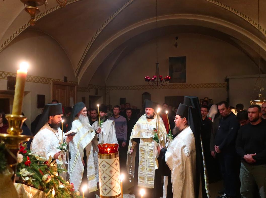 Рождество Христово встретили в Коневской обители