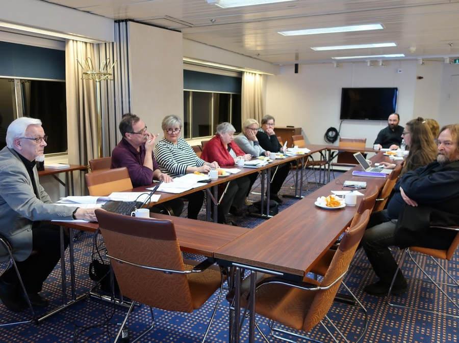 Заседание благотворительного финского общества «Коневец» в Стокгольме