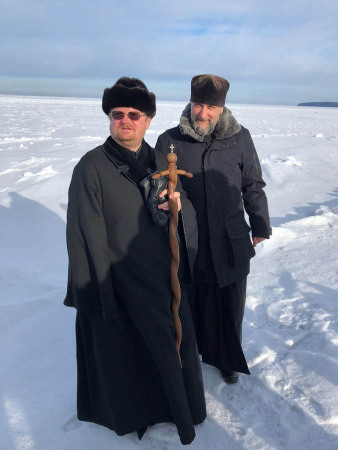 Епископ Выборгский и Приозерский Игнатий провел совещание по реставрационным работам в Коневской обители