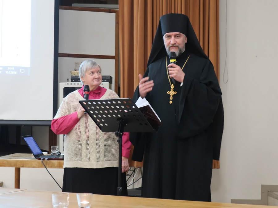 Наместник Коневской обители принял участие в годовом собрании Общества «Коневец»