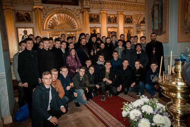 Обитель посетили студенты СПбДА