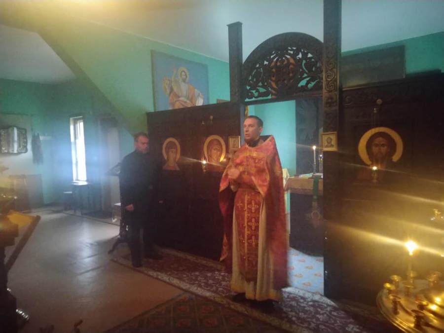 Литургия в день памяти обретения мощей прп.Арсения совершена в храме бухты Владимирская, на подворье Коневской обители
