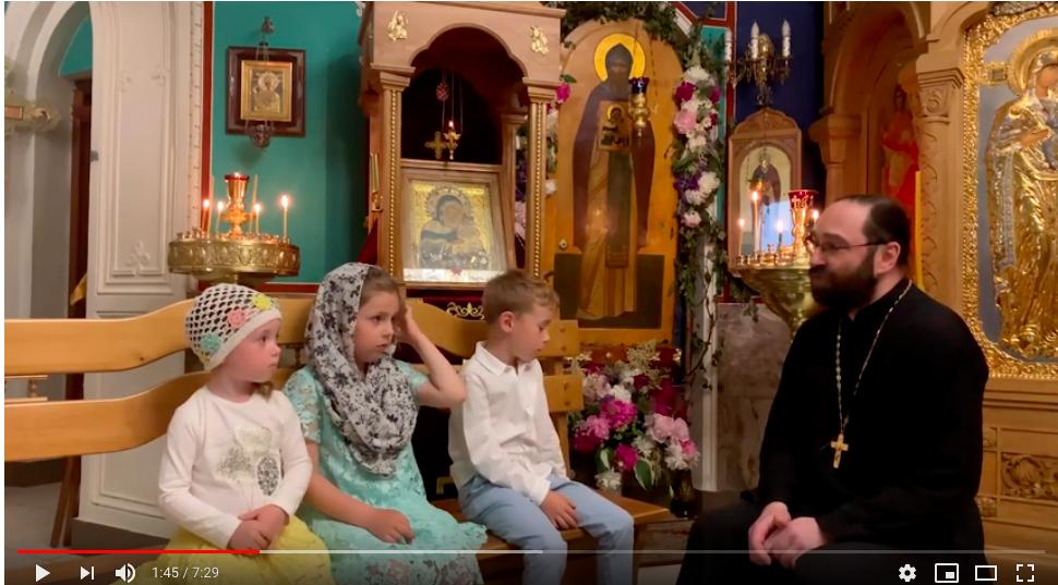 «Недетские вопросы» о преподобном Арсении Коневском: видеоролик с участием настоятеля Коневского подворья в Петербурге