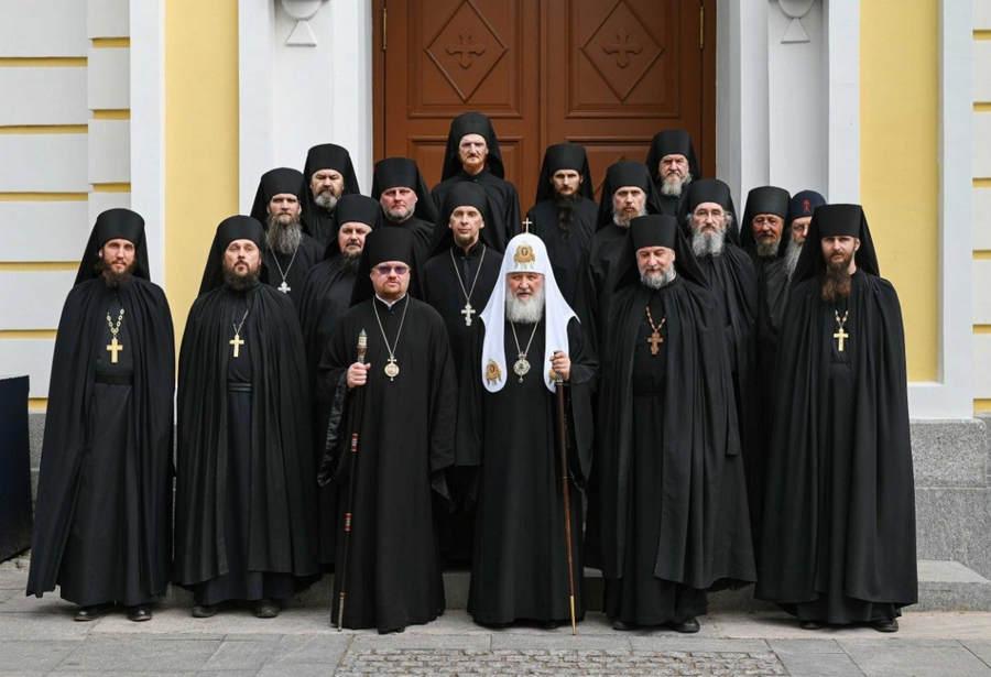 Слово Святейшего Патриарха Кирилла за братской трапезой в Коневском монастыре
