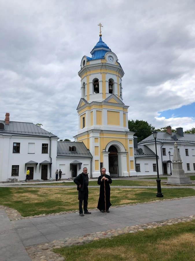 Преосвященнейший Игнатий находится в Коневском монастыре, завершая подготовку к визиту в обитель Святейшего Патриарха Московского и Всея Руси Кирилла