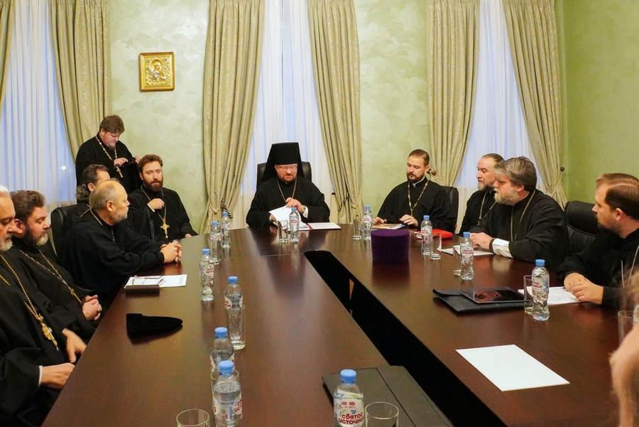 Состоялось итоговое заседание Епархиального совета