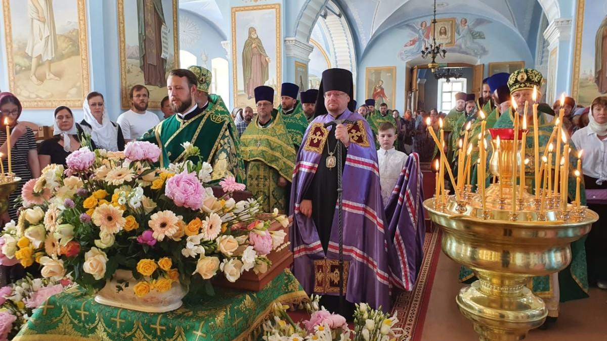 Епископ Выборгский и Приозерский Игнатий возглавил торжества, посвященные дню памяти основателя Коневской обители преподобного Арсения