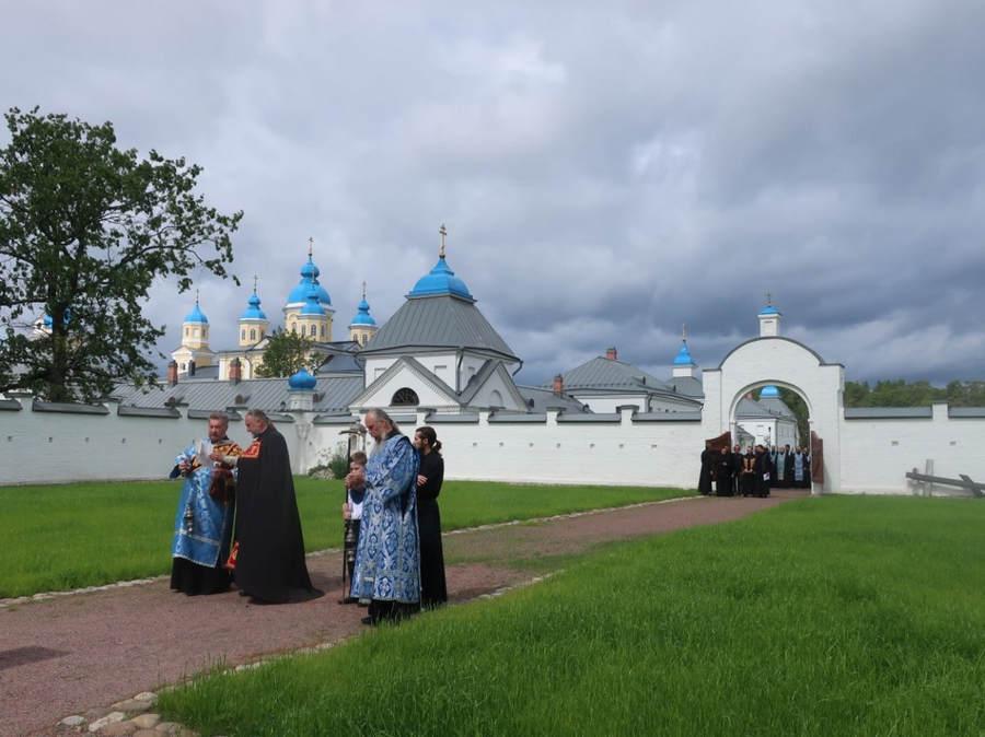 В Коневском монастыре почтили память святыни обители — Коневской иконы Божией Матери