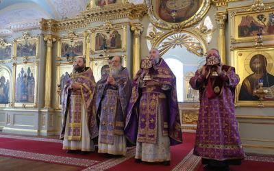 В Неделю Торжества Православия в Коневской обители совершены праздничные богослужения