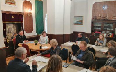 Перед началом паломнического сезона наместник Коневской обители провел совещание по работе монастырских подразделений на петербургском подворье монастыря