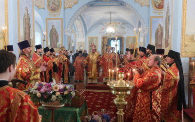 Начаты торжества 30-летия возрождения Коневской обители