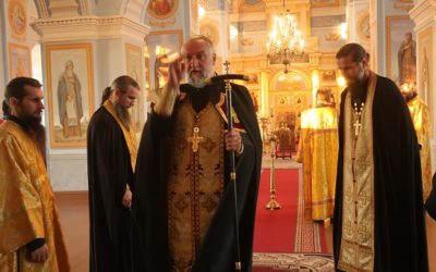 В Неделю всех святых, в земле Российской просиявших, в Коневской обители совершены праздничные богослужения