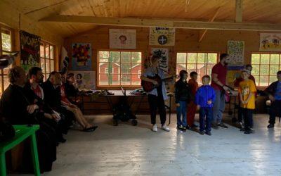 Владыка Игнатий посетил концерт в честь торжественного закрытия смены детского лагеря «Коневец»